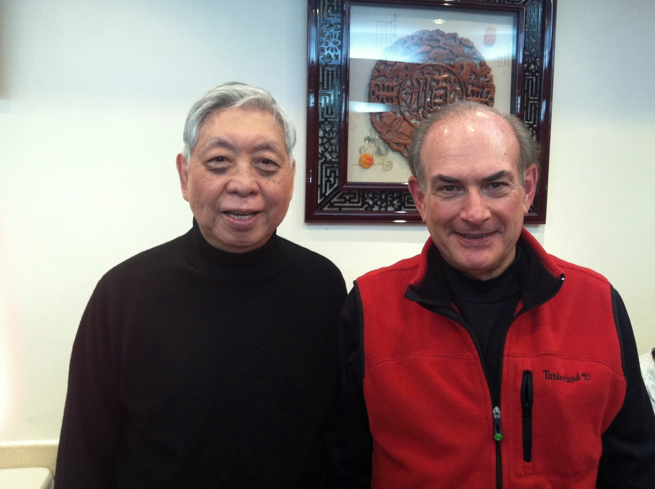 Master Chen and Peter Herman, 2012
