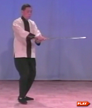 William Chen doing Sword Form